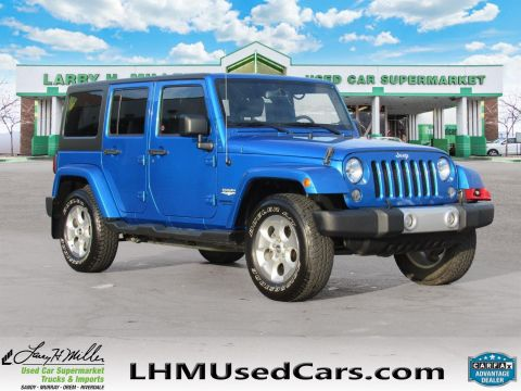 2014 Jeep Wrangler Unlimited SAHA 4WD