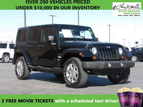2013 Jeep Wrangler Unlimited SAHA 4WD