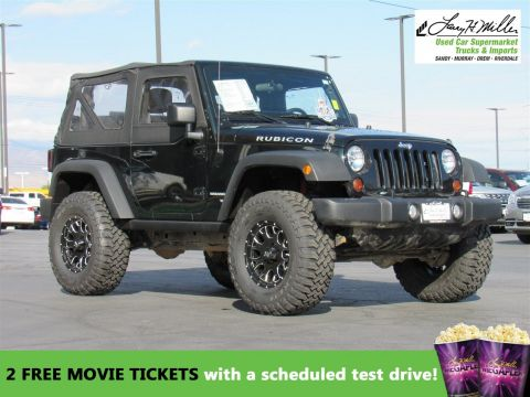 Pre-Owned 2012 Jeep Wrangler RUBI 4WD