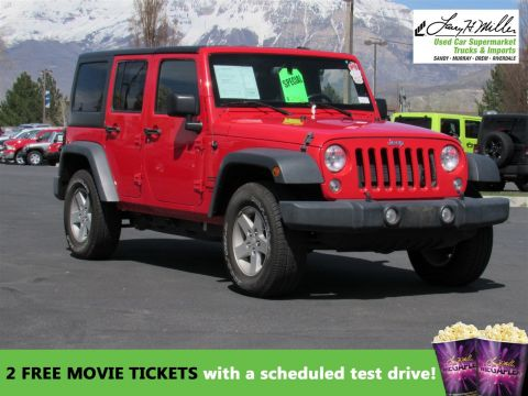 2015 Jeep Wrangler Unlimited SPOR 4WD