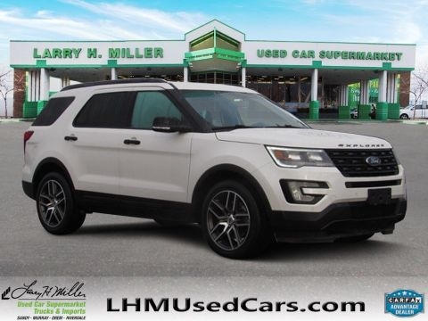 Pre-Owned 2017 Ford Explorer Sport