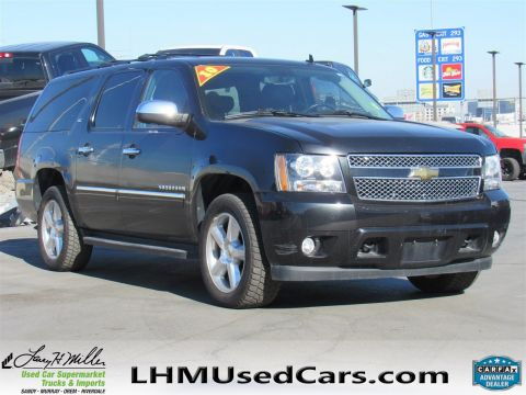 2010 Chevrolet Suburban LTZ With Navigation & 4WD