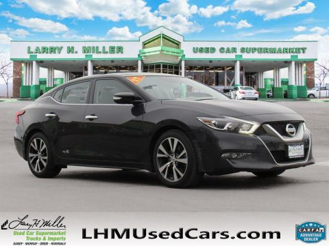 2017 Nissan Maxima SL With Navigation