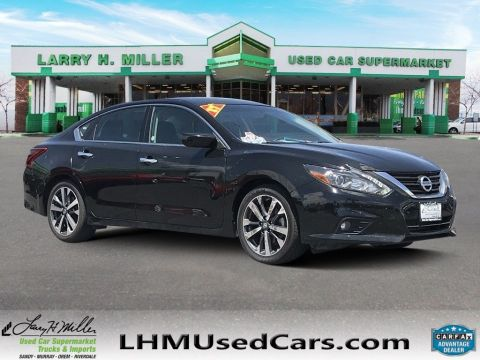 Pre-Owned 2017 Nissan Altima 3.5 SR