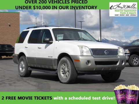 2002 Mercury Mountaineer  AWD