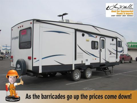 2013 TRAVEL TRAILER 5THWHEEL