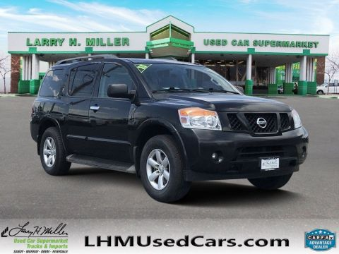 Pre-Owned 2015 Nissan Armada