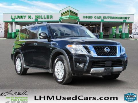 2017 Nissan Armada  With Navigation & AWD