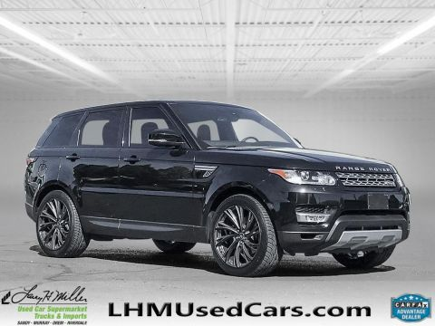 2016 Land Rover Range Rover Sport V6 HSE With Navigation & 4WD