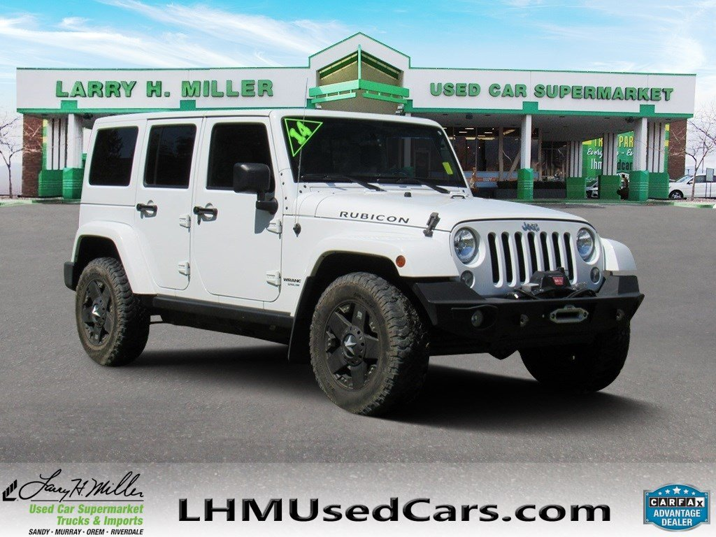 High Quality Pre Owned 2014 Jeep Wrangler Unlimited Rubicon