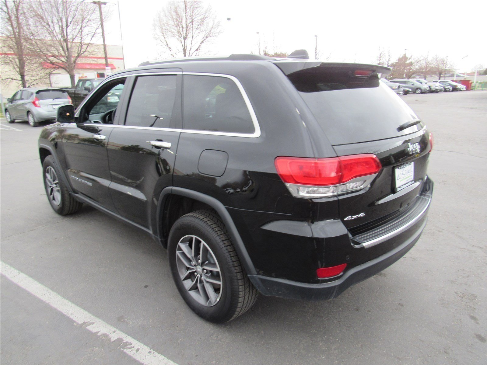 Pre Owned 2018 Jeep Grand Cherokee Limited Sport Utility in Sandy