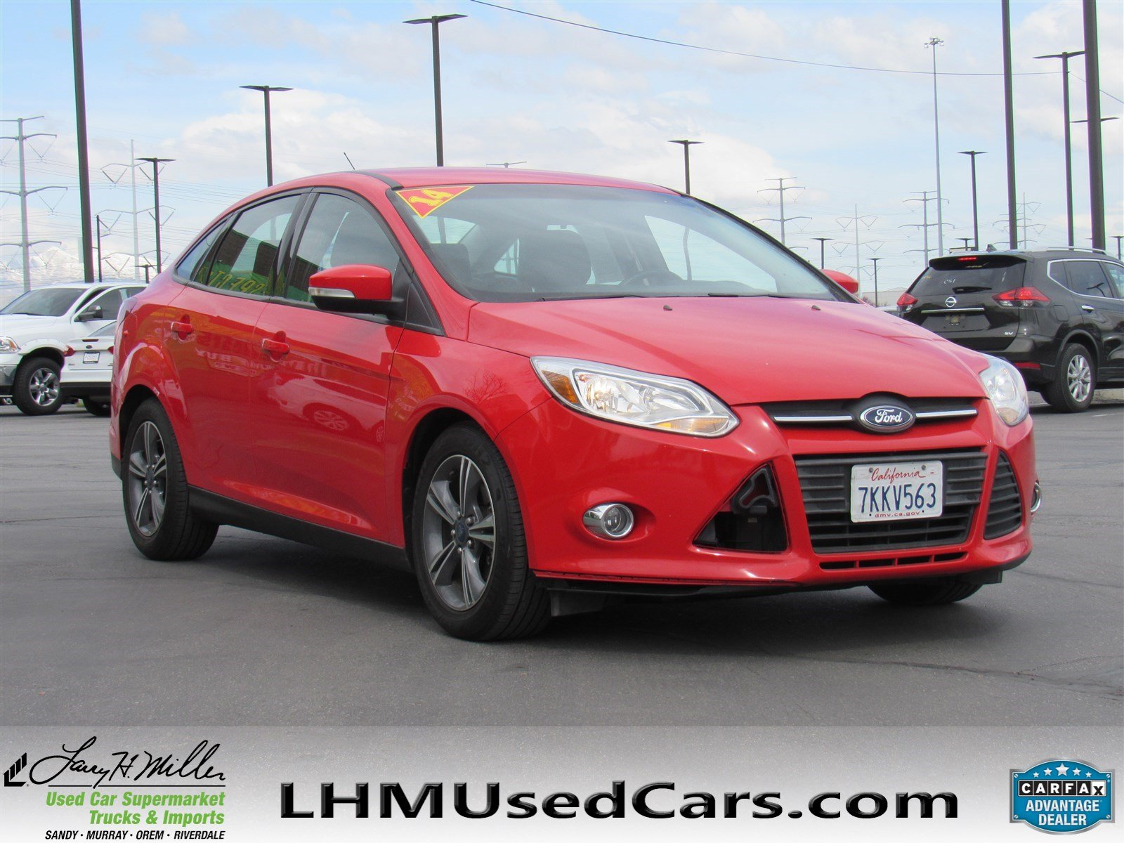 Pre Owned 2014 Ford Focus SE 4dr Car in Orem R3665