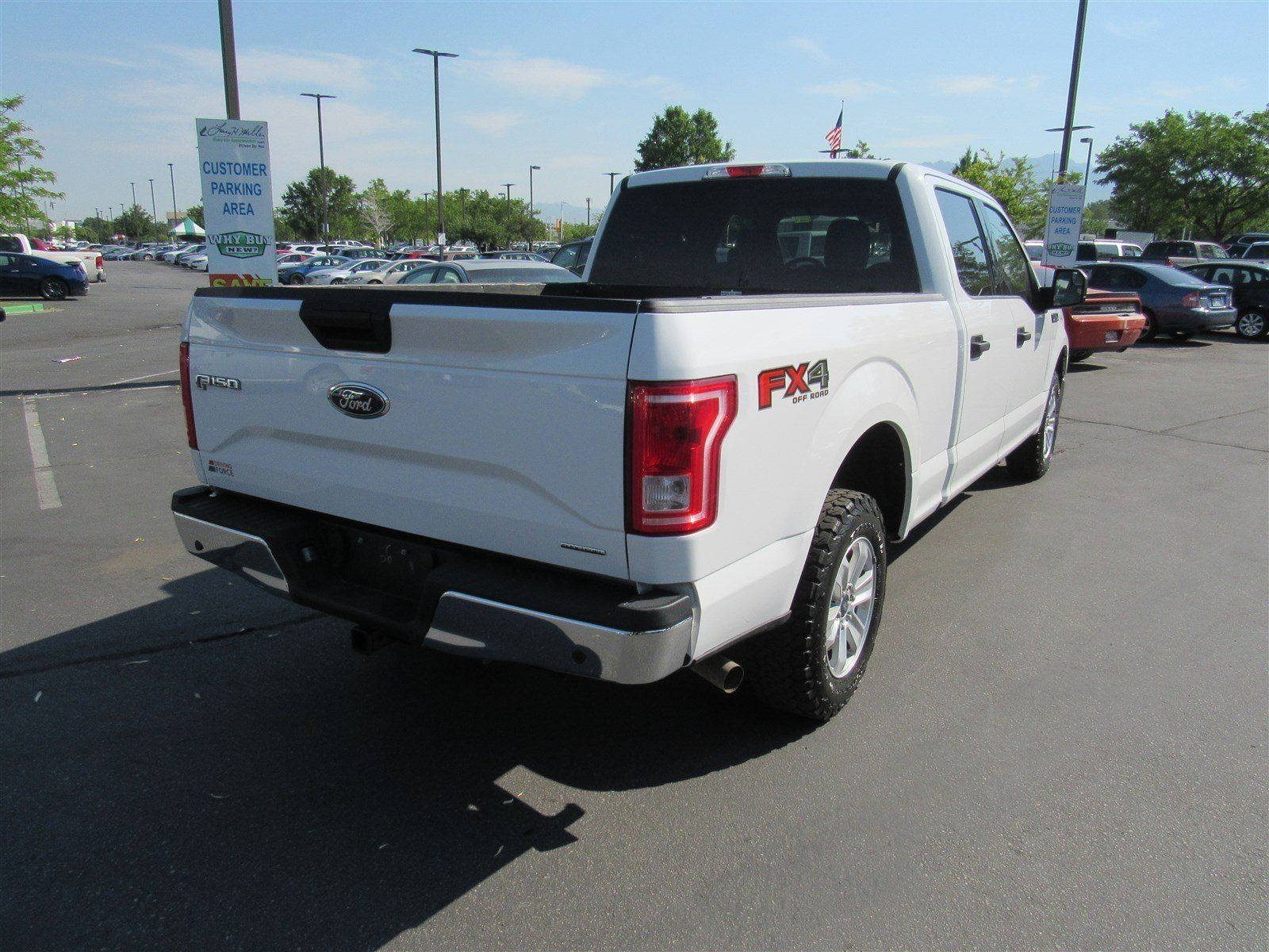 pre owned 2015 ford f 150 crew cab pickup in murray b3578 1ftfw1ef0ffc08378 larry h miller. Black Bedroom Furniture Sets. Home Design Ideas