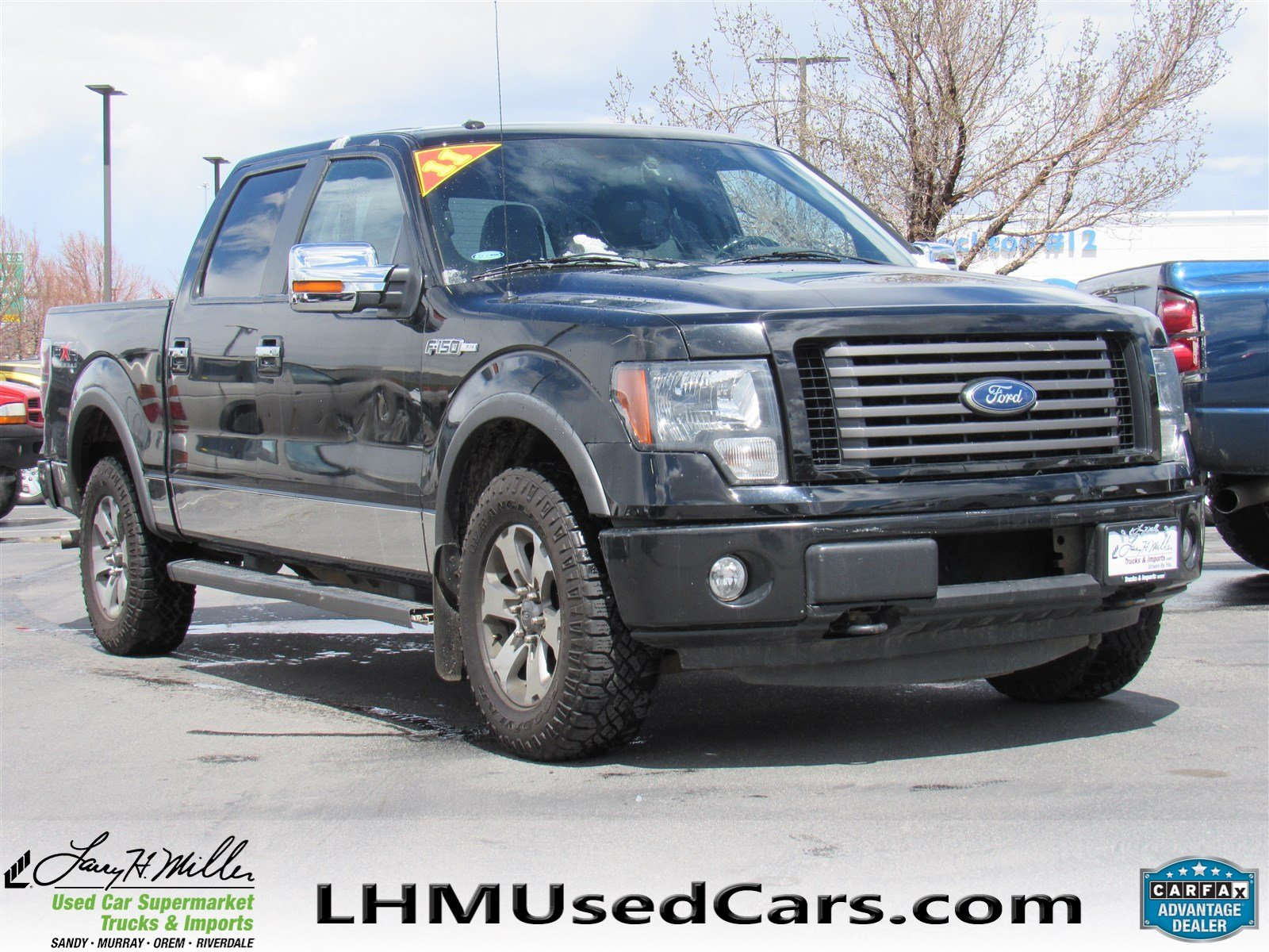 Pre Owned 2011 Ford F 150 Crew Cab Pickup in Sandy B4042