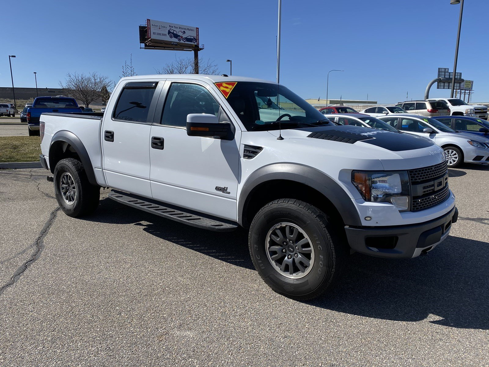 Pre-Owned 2011 Ford F-150 SVT Raptor