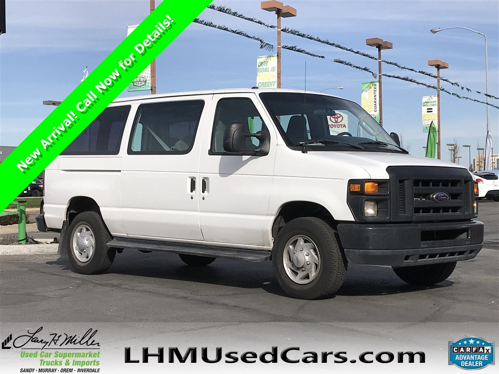 Pre owned 2011 ford econoline cargo van commercial