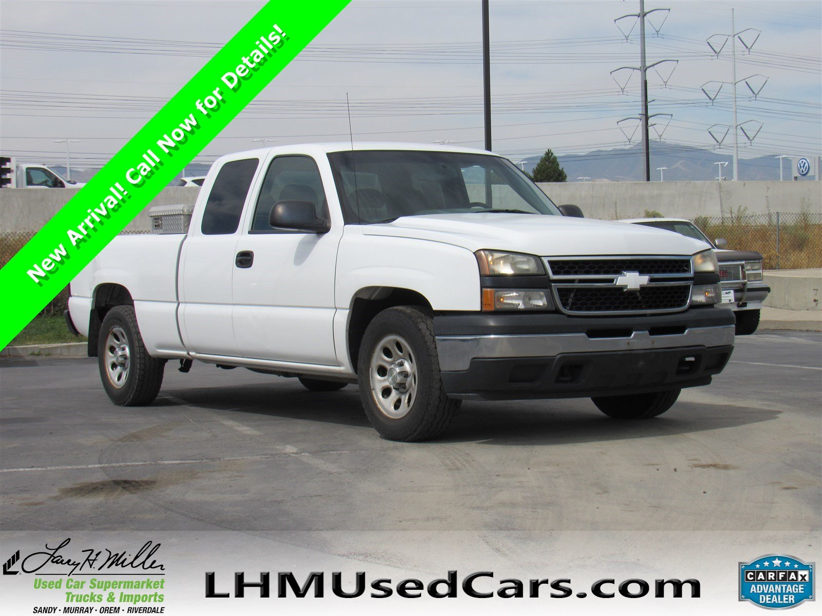 Pre Owned 2007 Chevrolet Silverado 1500 Classic Work Truck Extended
