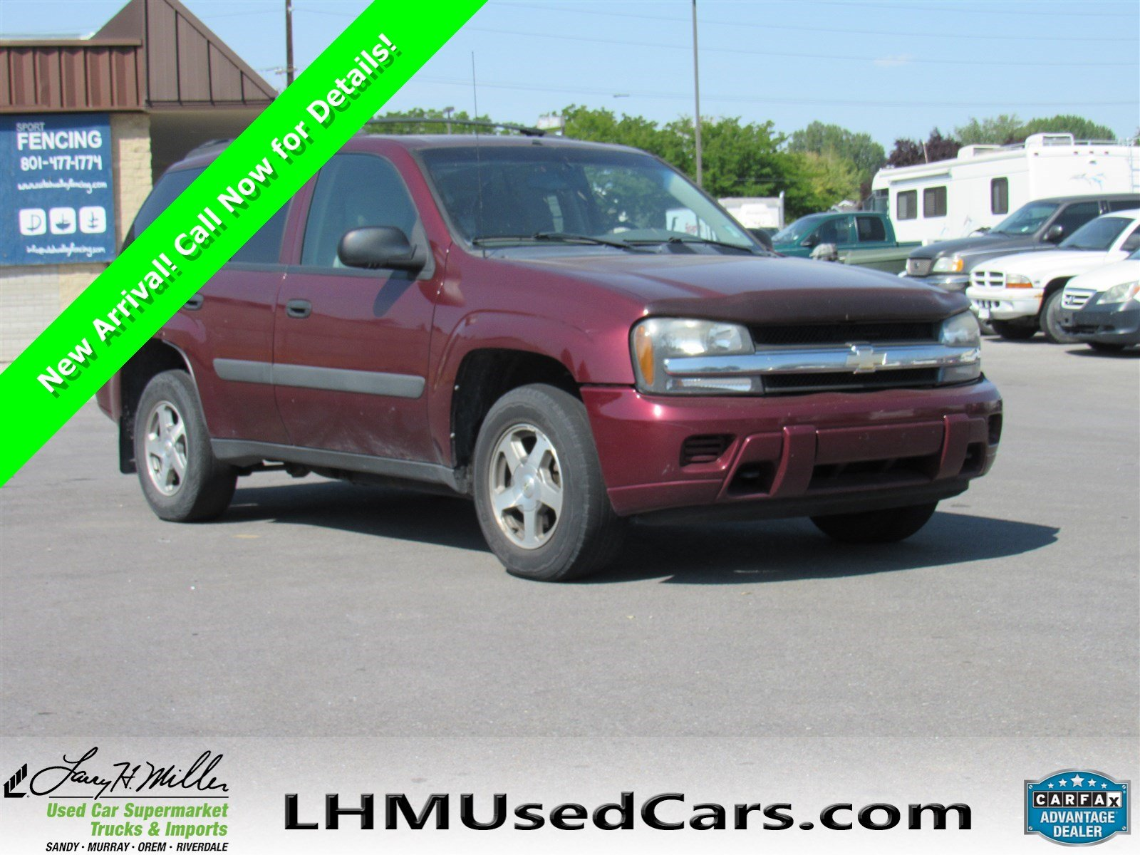 Pre Owned 2005 Chevrolet TrailBlazer LS Sport Utility in Sandy