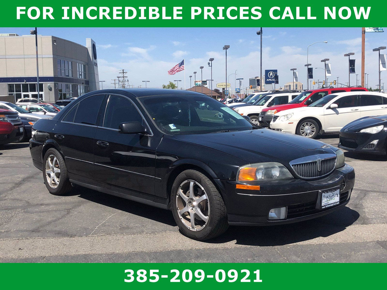 Pre-Owned 2002 Lincoln LS V8