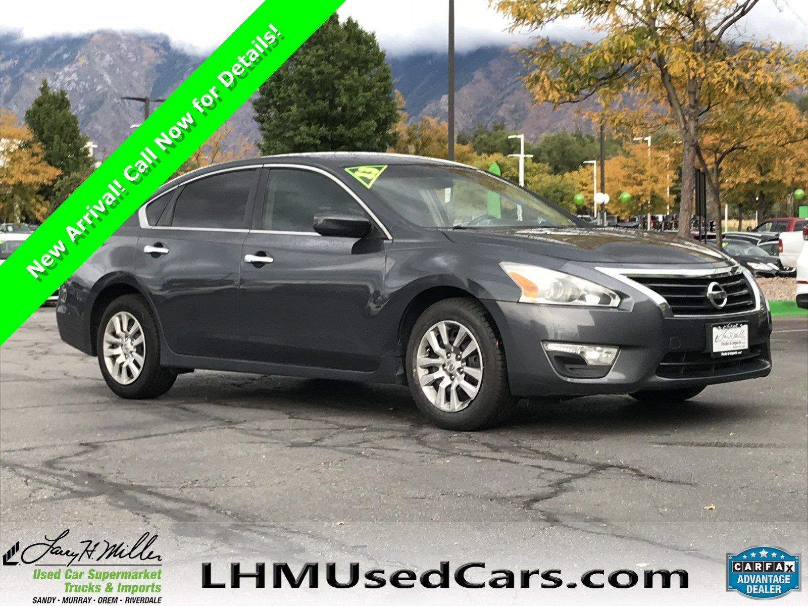 High Quality Pre Owned 2013 Nissan Altima 2.5 S