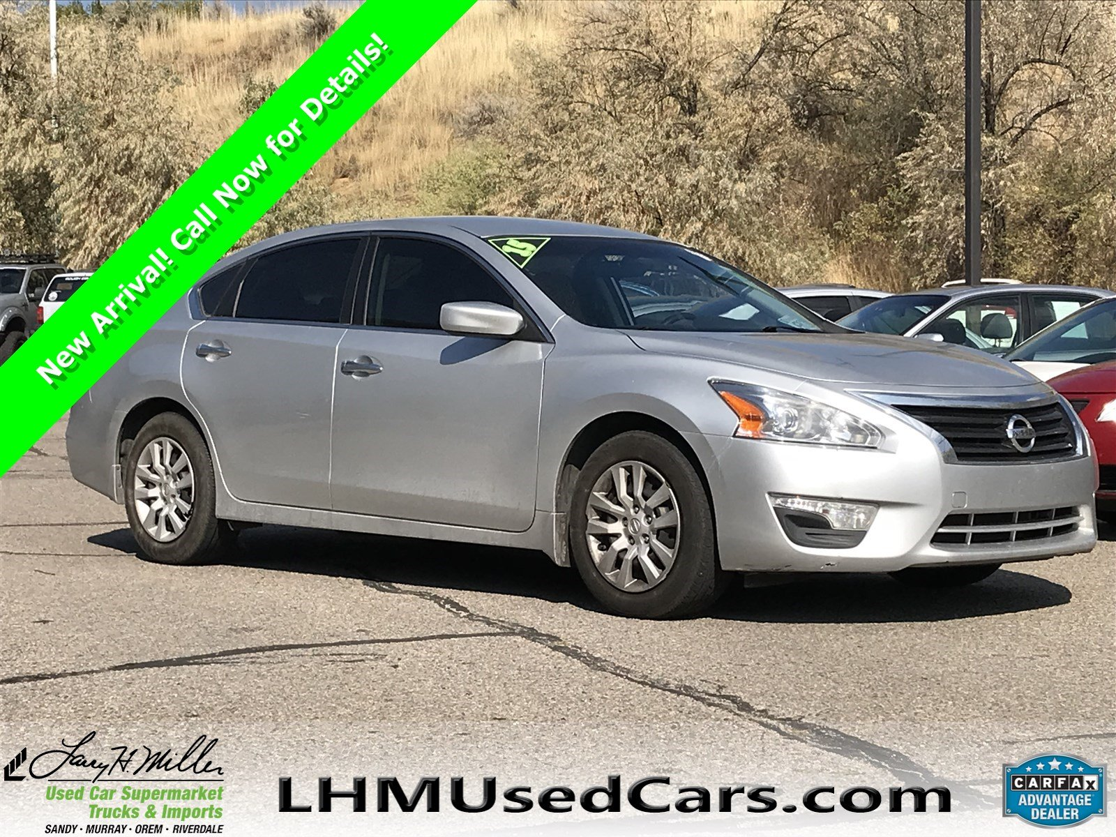 High Quality Pre Owned 2015 Nissan Altima 2.5 S