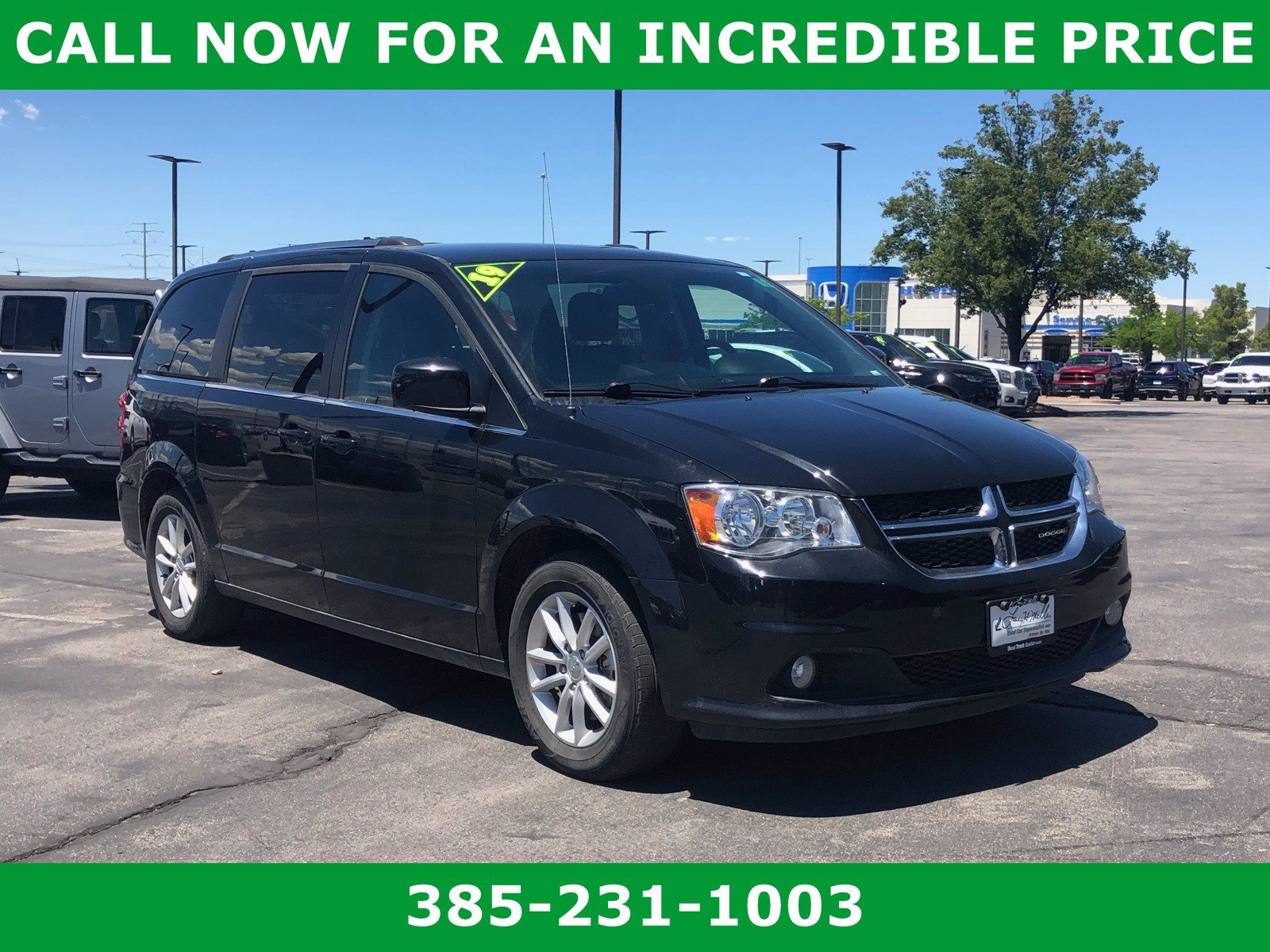 Pre Owned 2019 Dodge Grand Caravan Sxt Mini Van Passenger In Sandy S8254 2c4rdgcg3kr521378 Larry H Miller Used Car Supermarket