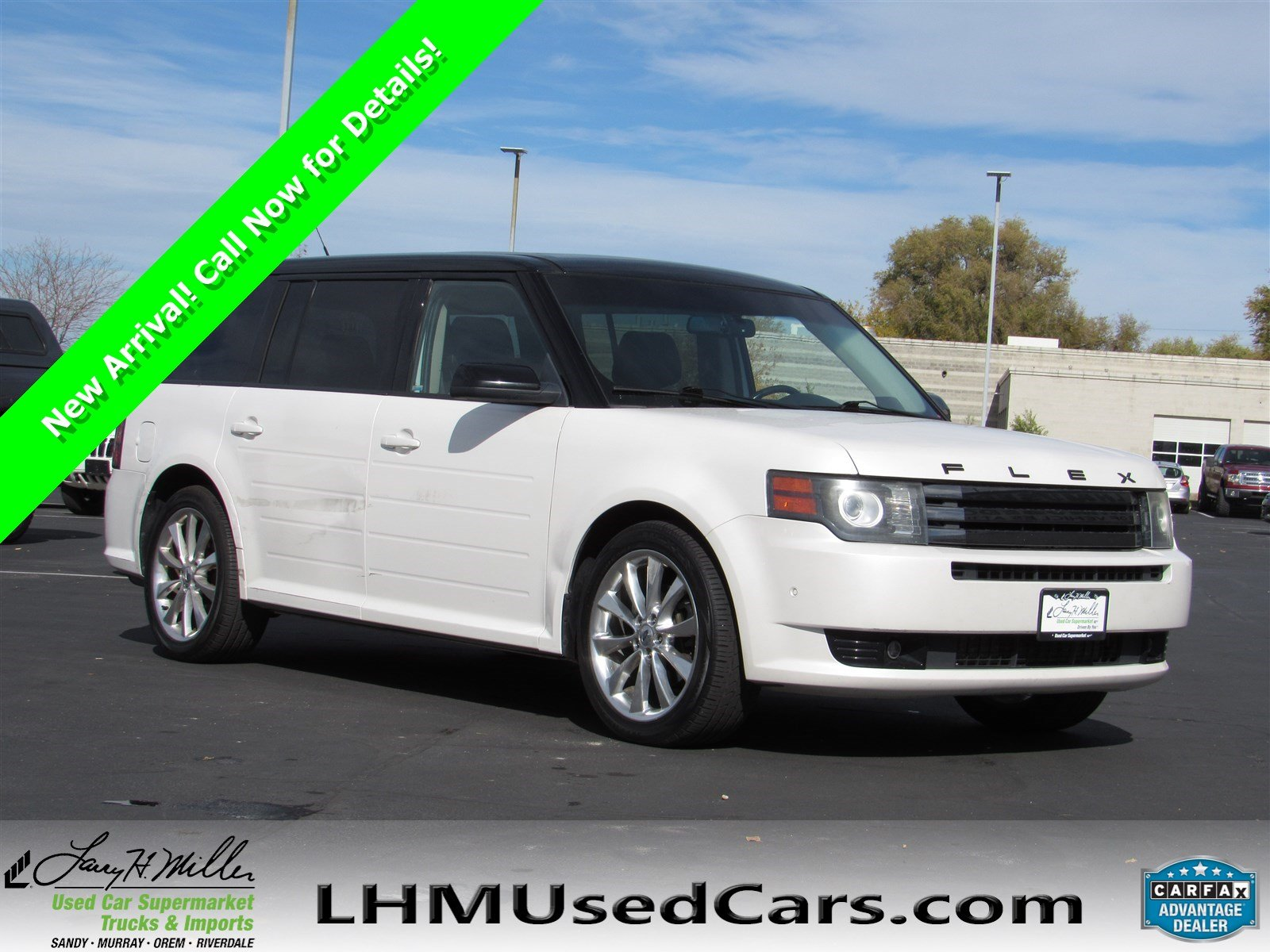 Pre owned 2011 ford flex limited w ecoboost