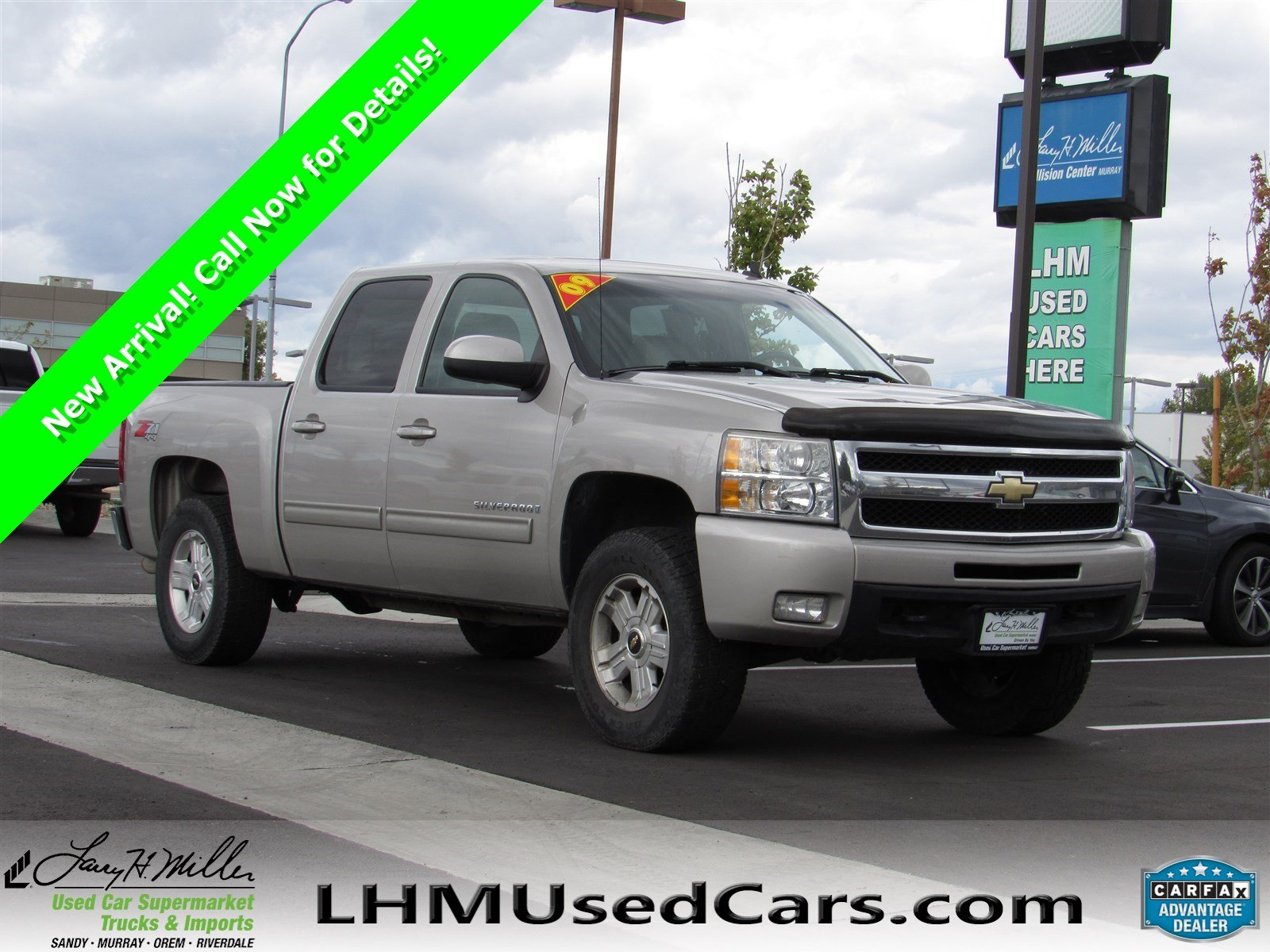 Pre Owned 2009 Chevrolet Silverado 1500 LTZ Crew Cab Pickup in