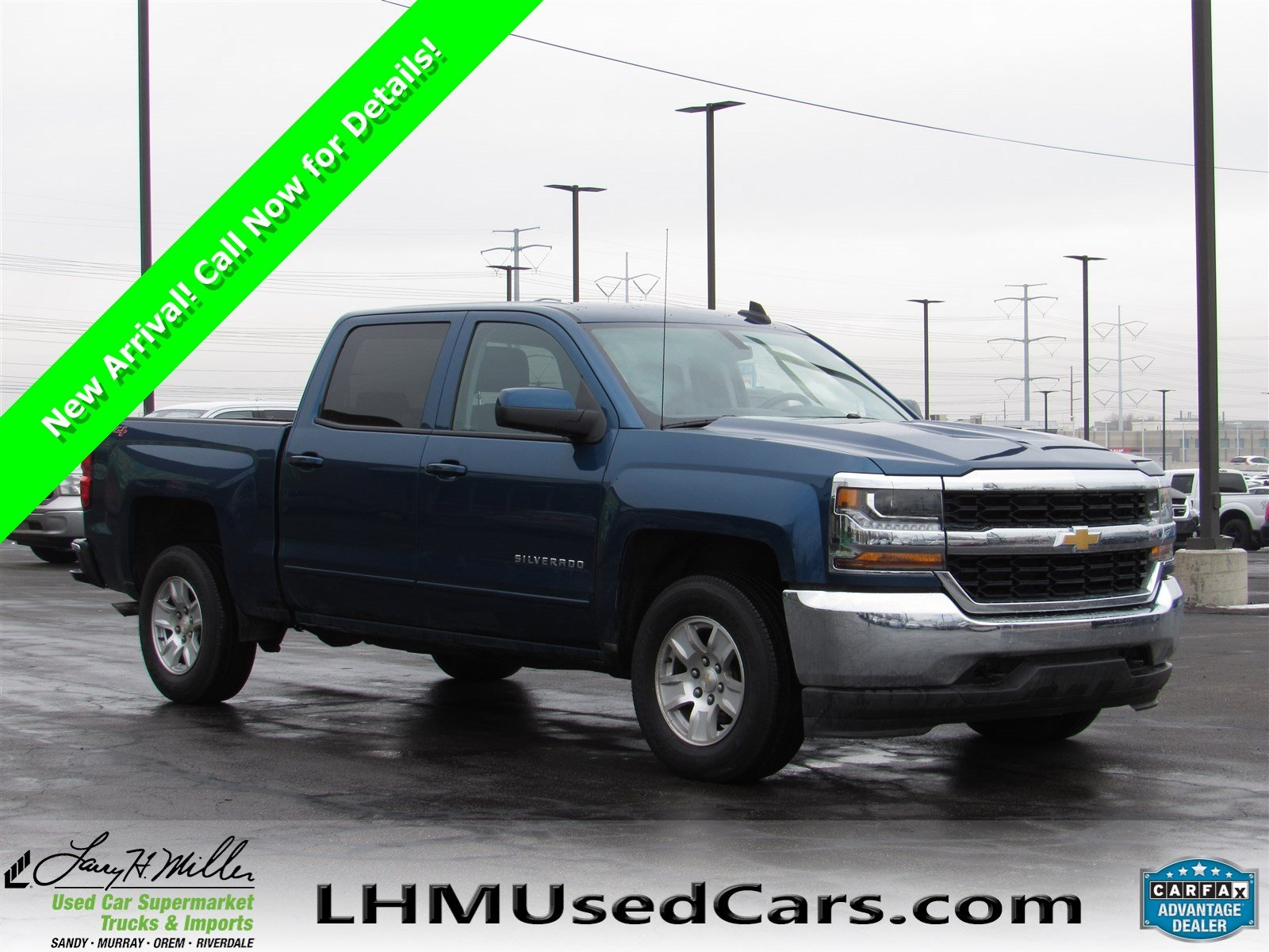 pre-owned 2017 chevrolet silverado 1500 lt crew cab pickup in sandy