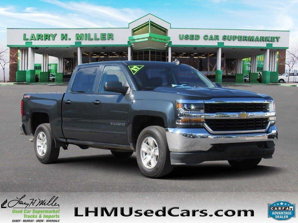 Pre Owned 2017 Chevrolet Silverado 1500 Lt Crew Cab Pickup In Sandy