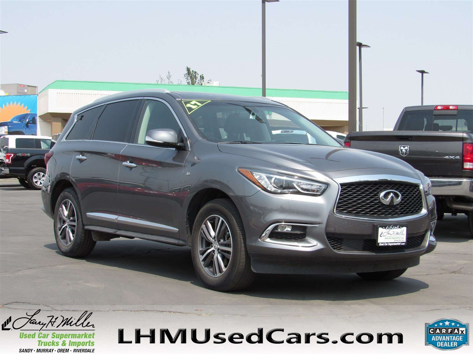 Pre Owned 2017 INFINITI QX60 Sport Utility in Sandy S4830
