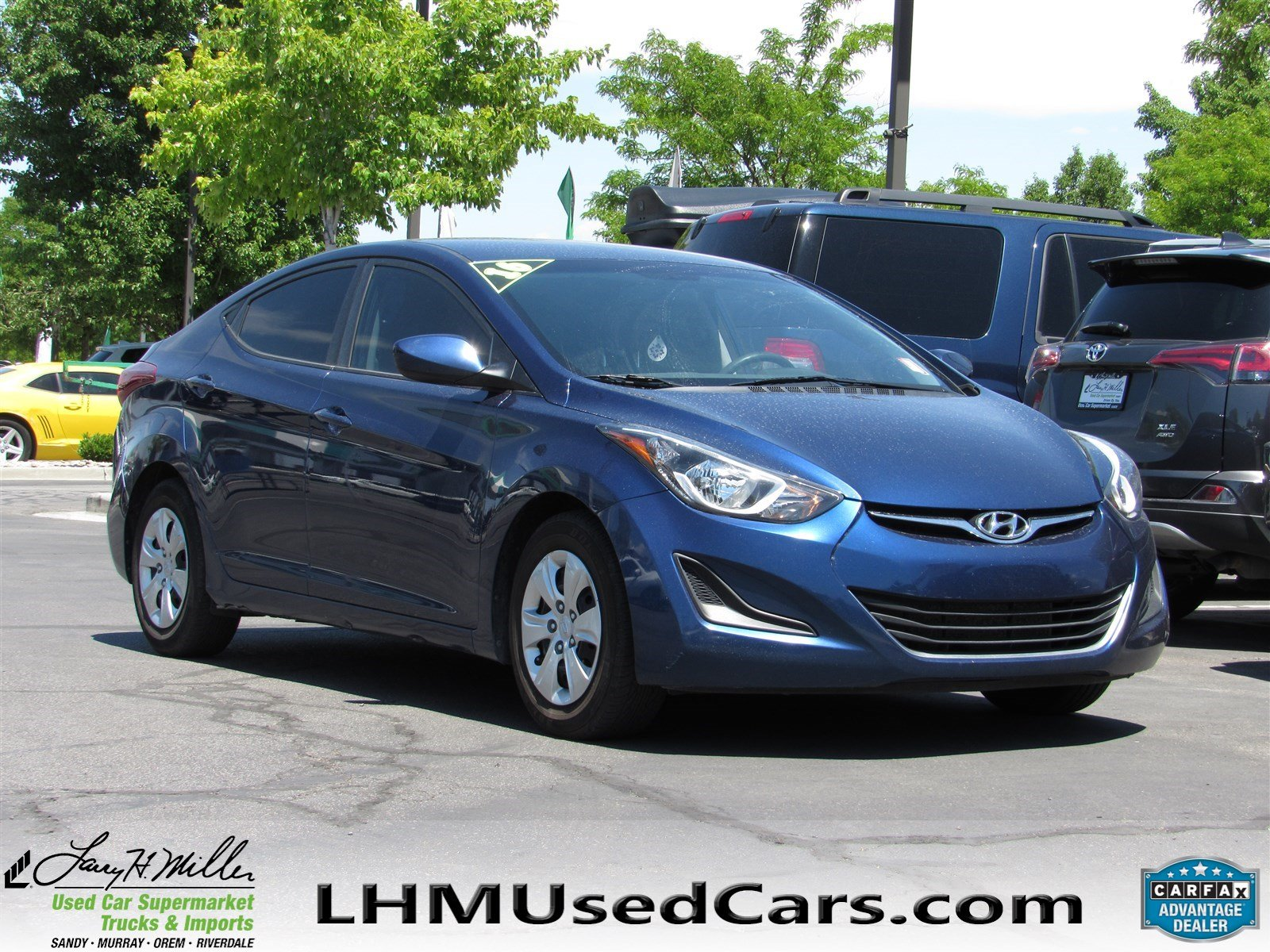 Pre Owned 2016 Hyundai Elantra SE 4dr Car in Sandy B3855A