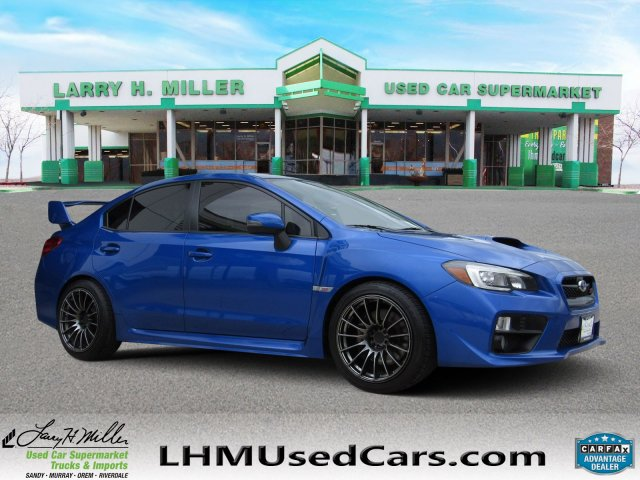 Used Subaru Wrx Sti >> Pre Owned 2015 Subaru Wrx Sti Launch Edition 4dr Car In Sandy