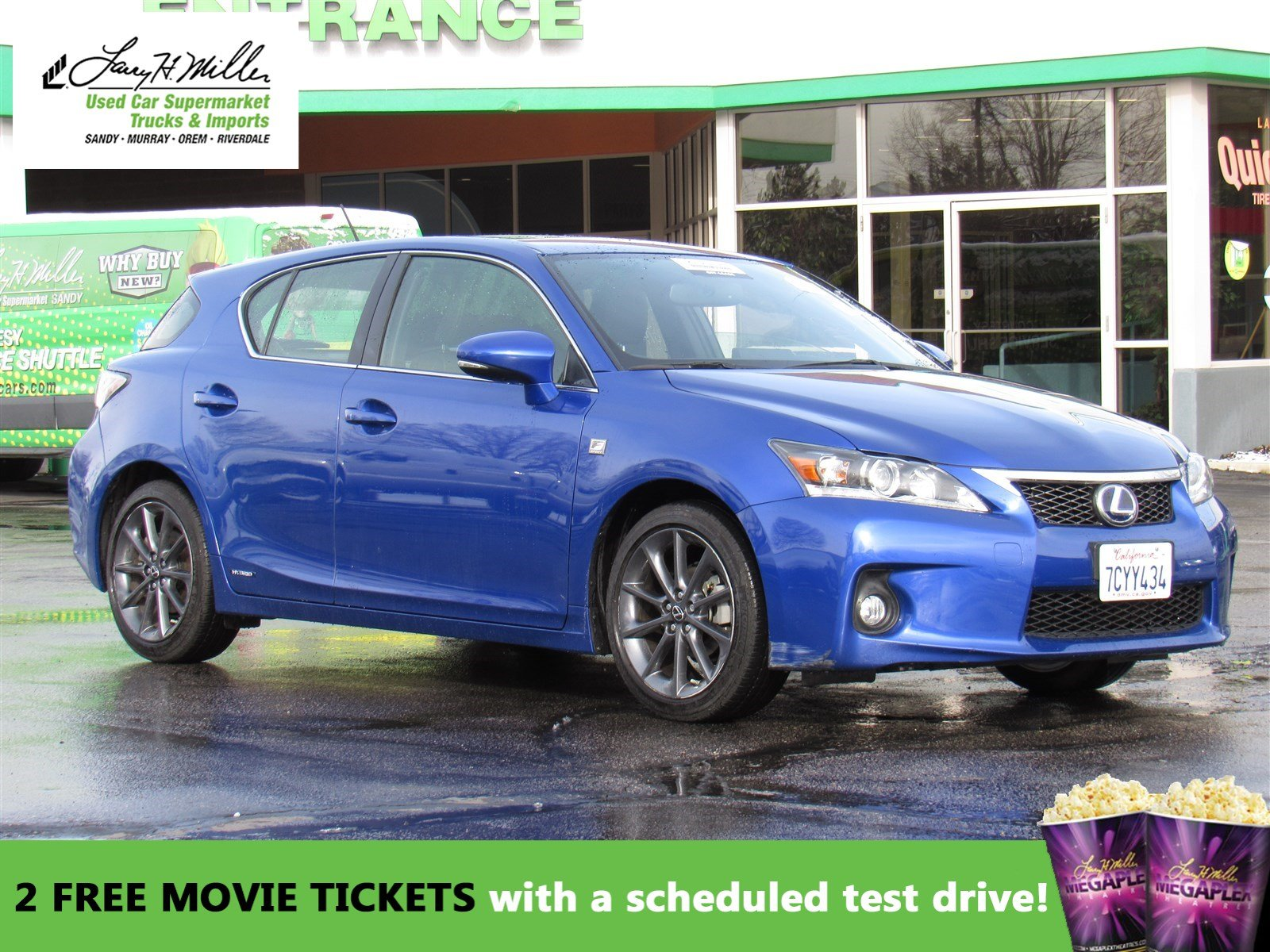 Pre Owned 2013 Lexus Ct 200h Hybrid Hatchback In Sandy