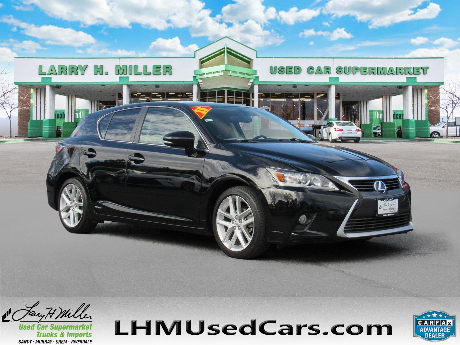Larry H Miller Lexus U003eu003e Pre Owned 2015 Lexus CT 200h Hybrid Hatchback In