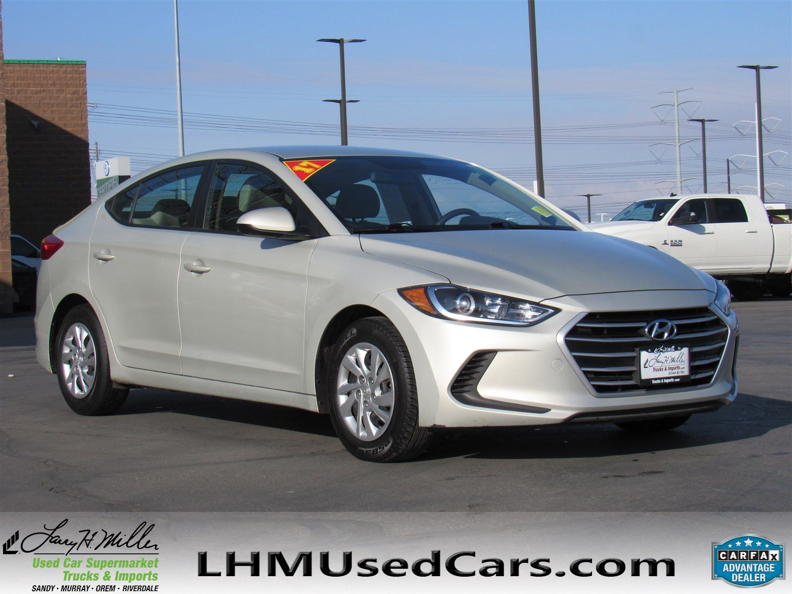Pre Owned 2017 Hyundai Elantra SE 4dr Car in Sandy S3771