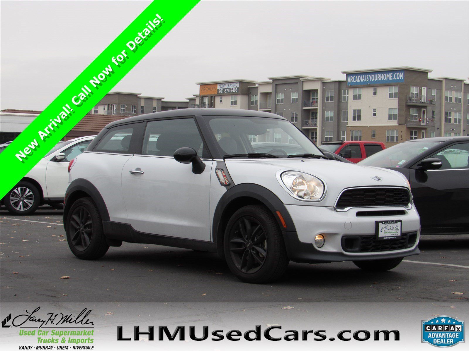 Pre Owned 2017 Mini Cooper Paceman S