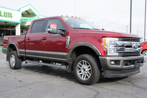Pre-Owned 2018 Ford Super Duty F-350 SRW King Ranch