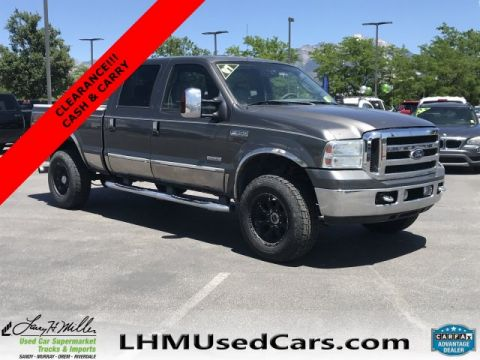 Pre-Owned 2007 Ford Super Duty F-350 SRW Lariat