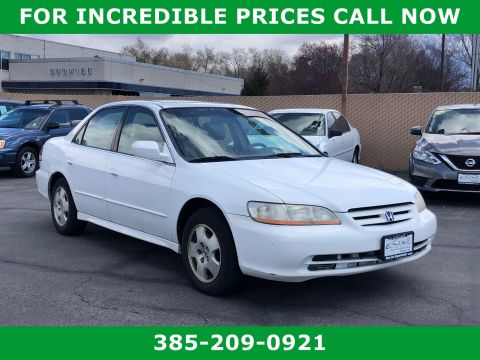 Pre-Owned 2001 Honda Accord EX w/Leather