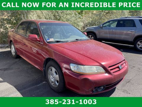 Pre-Owned 2002 Honda Accord EX w/Leather