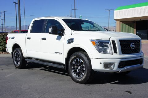 Pre-Owned 2017 Nissan Titan