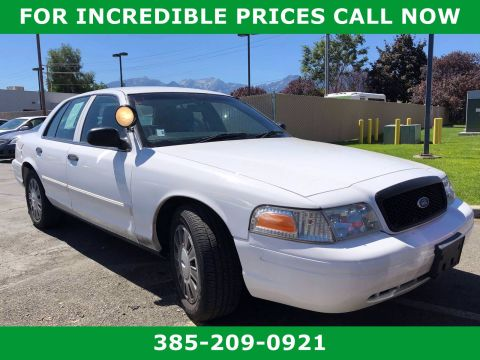 Pre-Owned 2011 Ford CROWN VICTORIA Police Interceptor