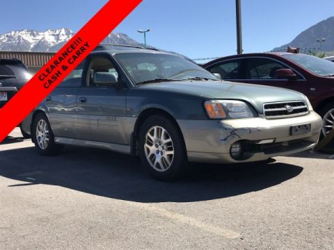 Pre-Owned 2001 Subaru Legacy Wagon Outback H6 L.L. Bean Edition