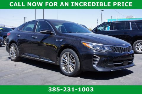 Pre-Owned 2017 Kia Optima SX Limited