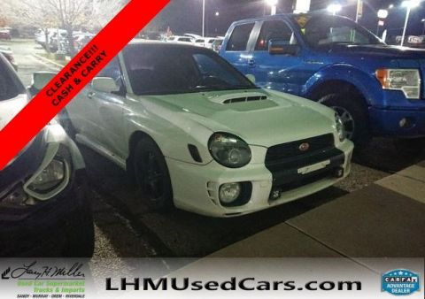 Pre-Owned 2002 Subaru Impreza Sedan WRX
